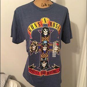 Guns N Roses 'Appetite For Destruction' Band Tee
